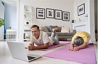 Online education, fitness after 50