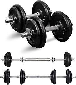 PITHAGE Adjustable Dumbbells set, fitness after 50.jpg