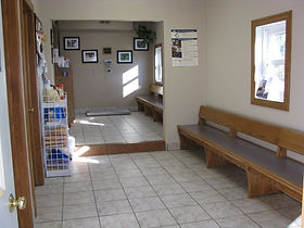 Mapleton Veterinary Clinic Waiting Room