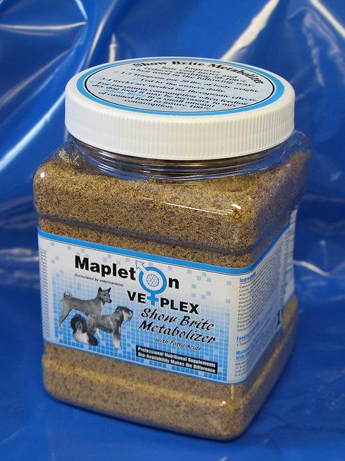Mapleton Vetplex Show Brite Metabolizer 1lb. Jar
