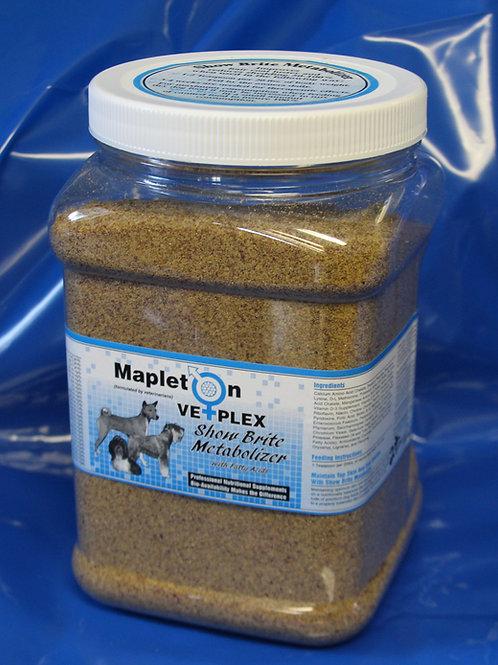 Mapleton Vetplex Show Brite Metabolizer 2lb. Jar