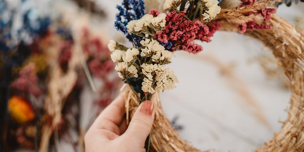 Dried Spring Wreath Workshop