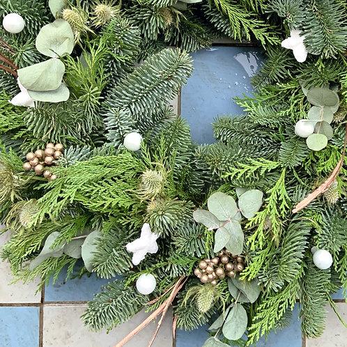 XL Snowflake Wreath