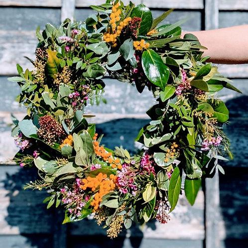 Fresh Spring wreath kit