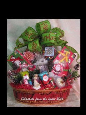 "Christmas Basket ""Angelic Tidings"""