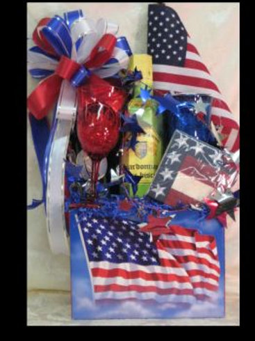 "Patriotic Basket - ""Celebrate Patriotism"""