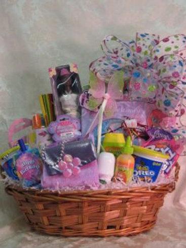 """Children Basket """"Little Girl's Delight"""""""
