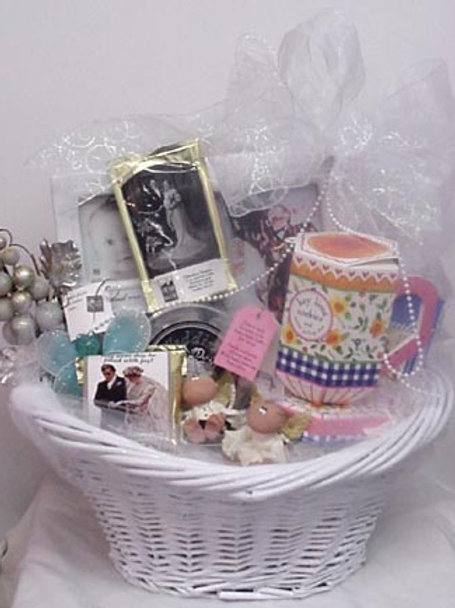 """Congratulations Basket """"Congratulations To The Betrothed"""""""