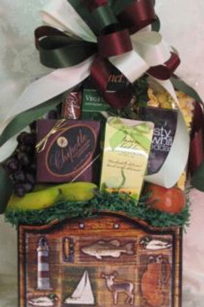 "Get Well Basket -""Healthy Get Well Male"""