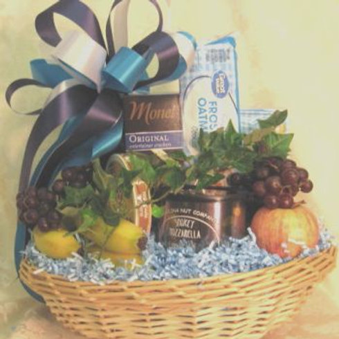 "Diabetic Basket ""Feel Better Soon"""