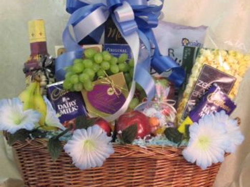 """Get Well Basket -""""To Your Health"""""""