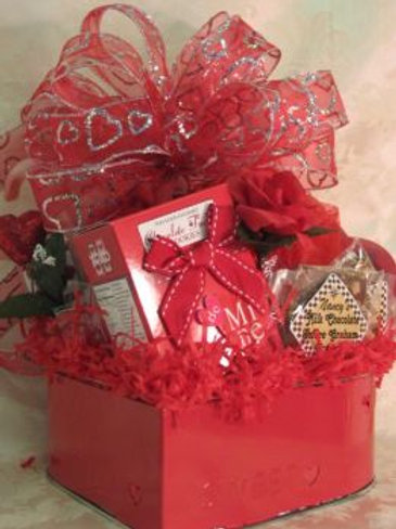 """Valentine's Day Basket - """"You're My Heart"""""""