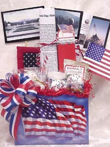 "Patriotic Basket - ""Memorial Day"""