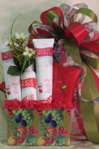 "Pamper Basket - ""Pamper Your Feet"""