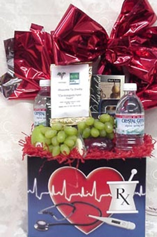 """Doctor's Day Basket """"Welcome, Doctor"""""""
