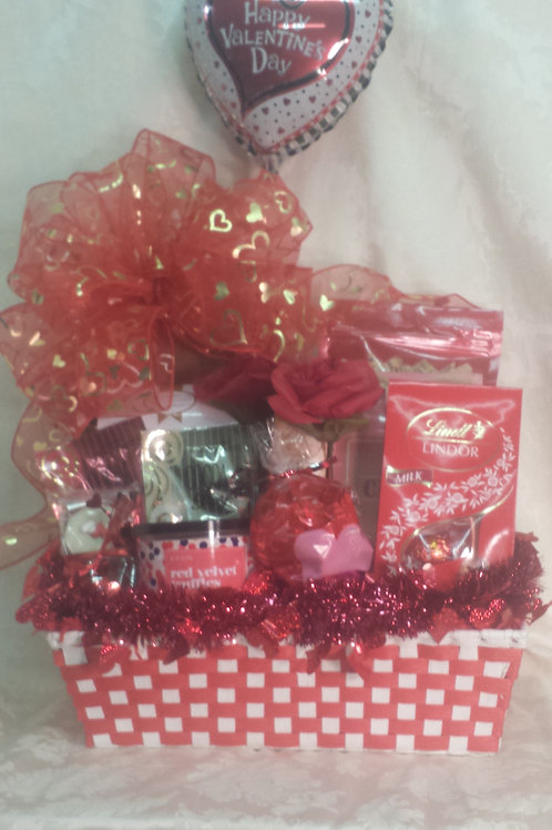 """Valentine's Day Basket - """"Nuts For You"""""""