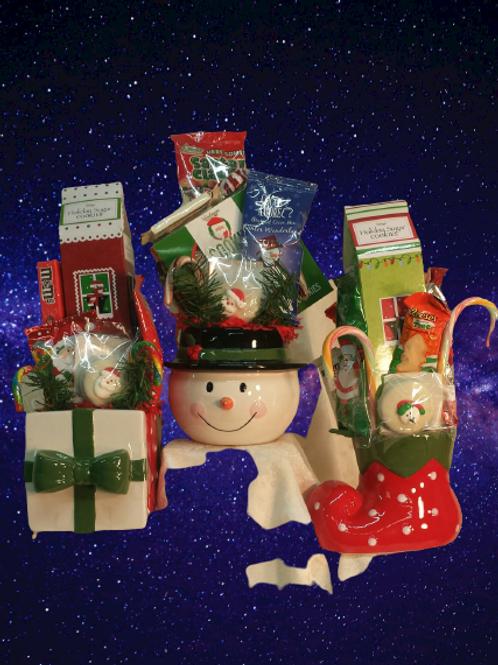 """""""Ceramic Planter Christmas Designs"""""""
