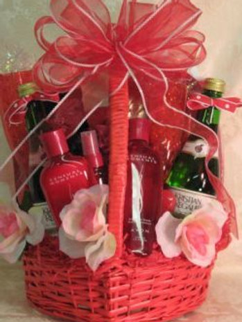 "Anniversary Basket ""Romantic Splendor"""