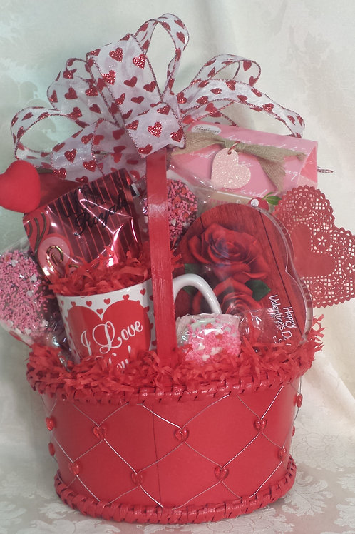 "Valentine's Day Basket - ""Chocolates For My Valentine"""