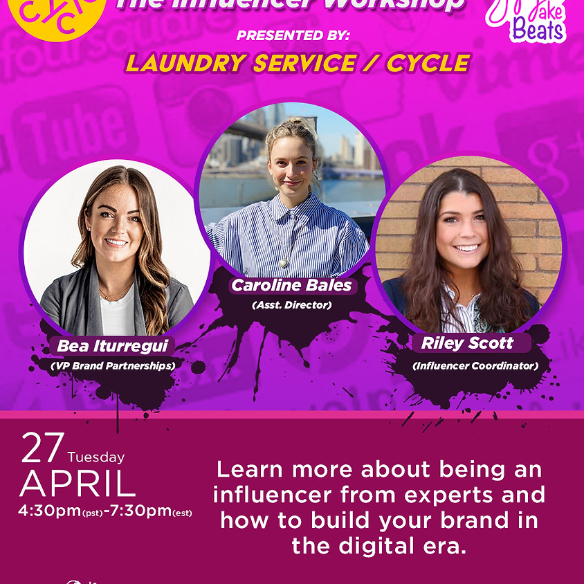 Building Your Brand- 'The Influencer' Workshop