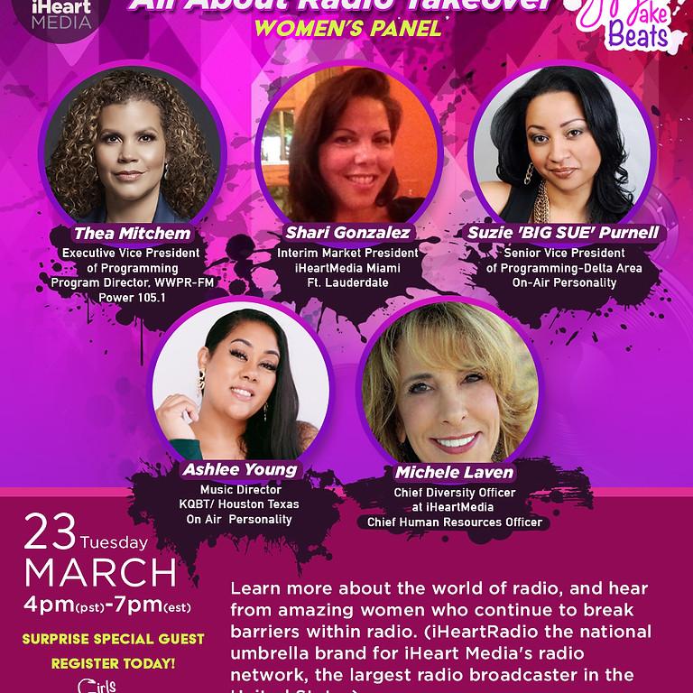#iHeartWomen Panel- The Radio World 4P (PST) | 7P (EST)