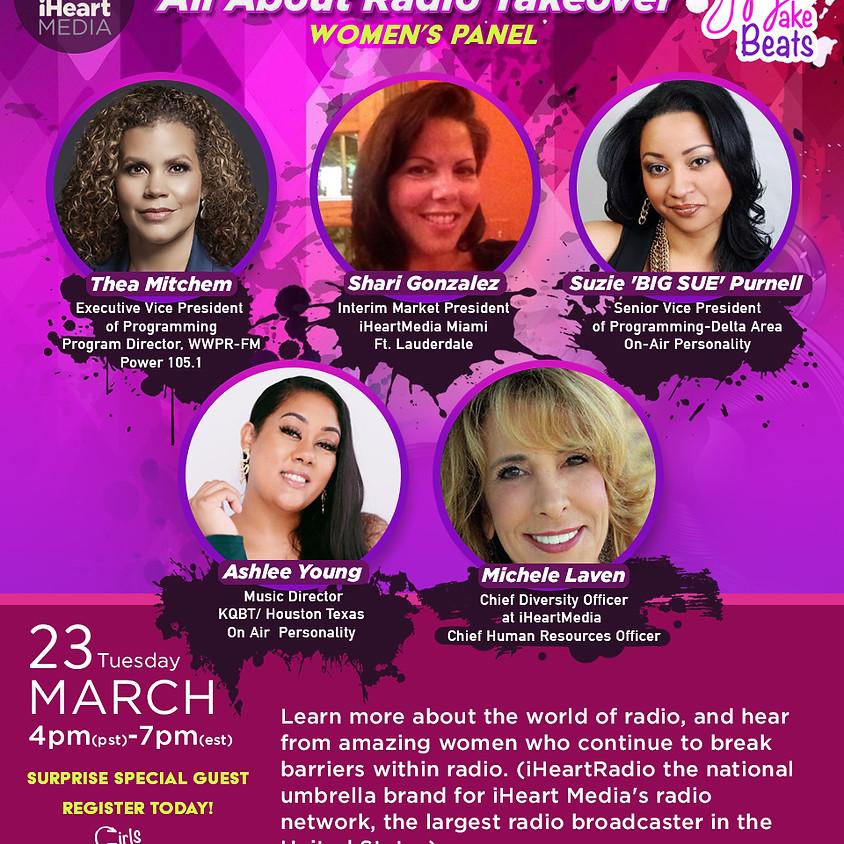 #iHeartWomen Panel- The Radio World 4P (PST)   7P (EST)