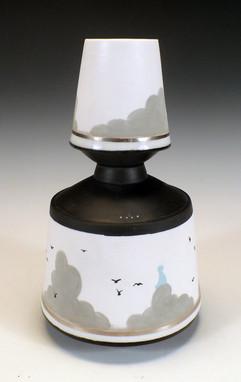 Two Teir Vase
