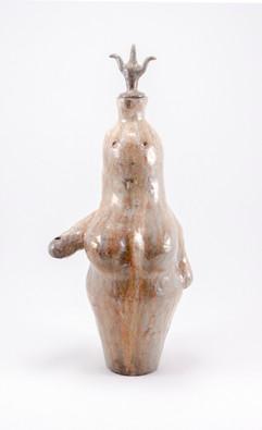 Female Figure Bottle