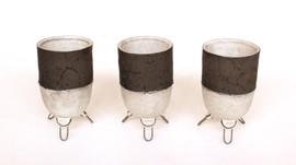 Wire Cup Trio