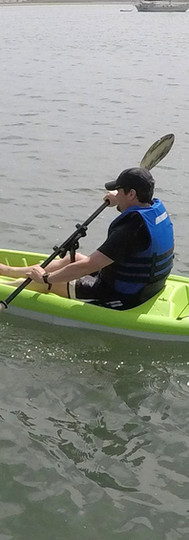 Gamut Paddle Holder on Sit-on-Top