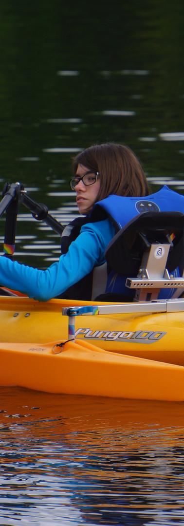 Versa Paddle Angled Downward