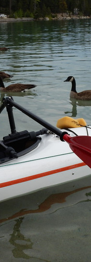 Kayaking with One Hand