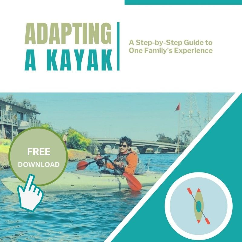 kayak paddle holder adaptive kayak