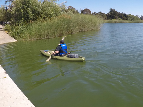 Gamut on Angling Kayak