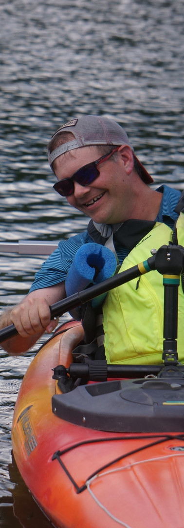 Paddler with Apraxia