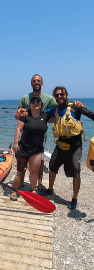 Adaptive Paddling in Greece