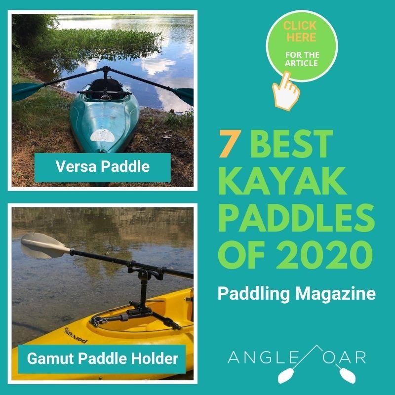 7 best kayak paddles angle oar