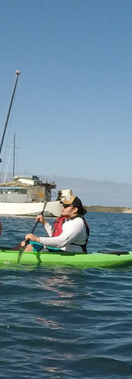 Paddling with Visual Impairment