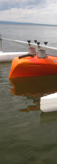 Outriggers on Sit-in Kayak