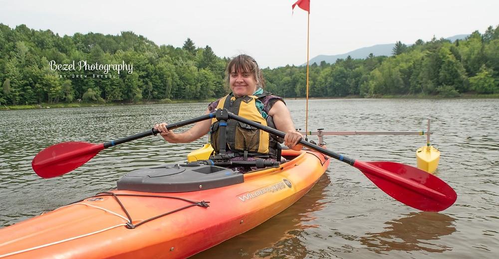 paddle holder for kayak