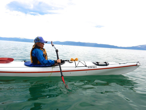 Paddling Versa with One Arm