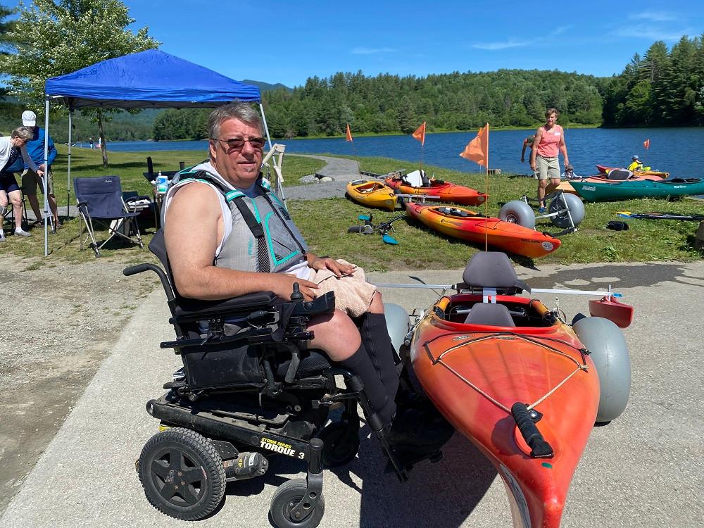 kayak disabled