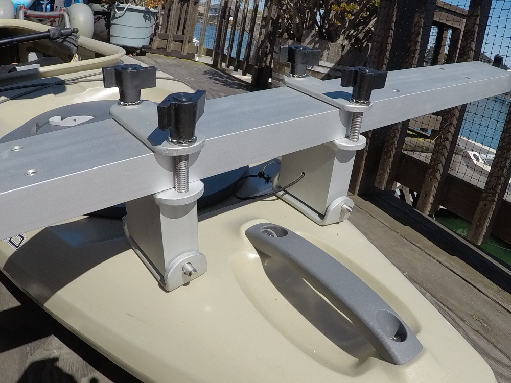 installing canoe and kayak outriggers