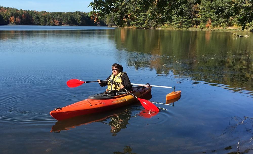 handicap kayaking