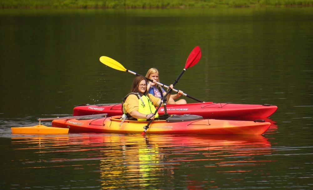 adapted kayak