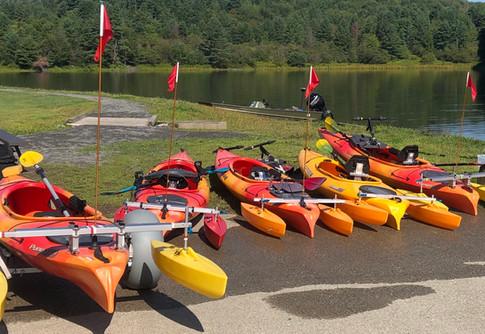 NDAA Adapted Kayaks