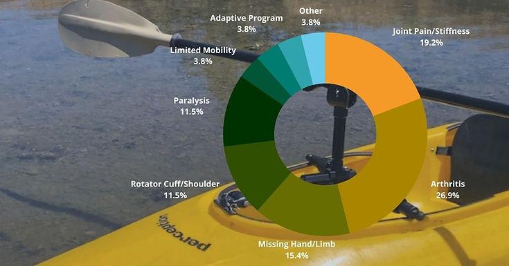 kayak holder for paddles