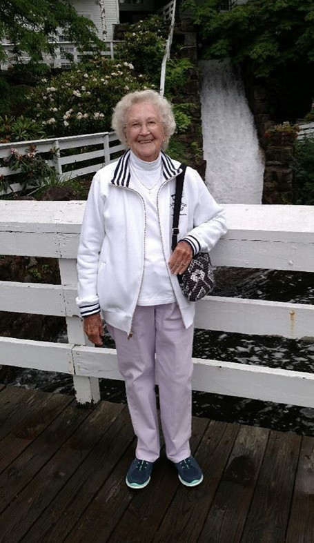Jean, 89-year-old kayaker