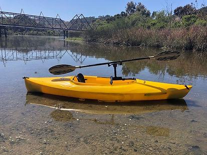 paddle holder kayak