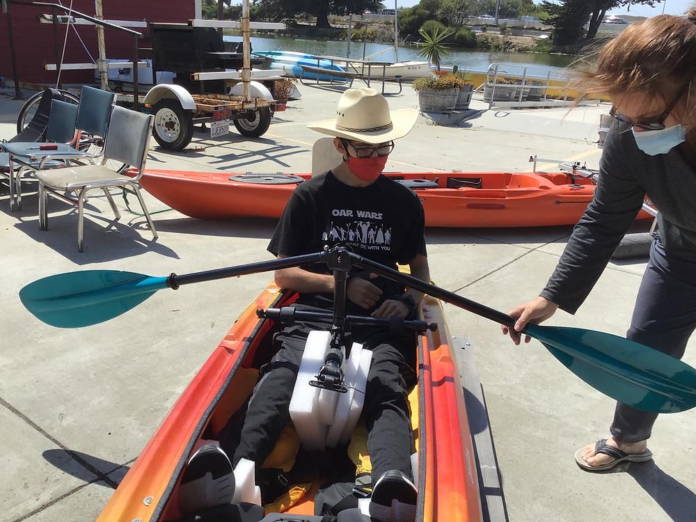 kayak transfer bench